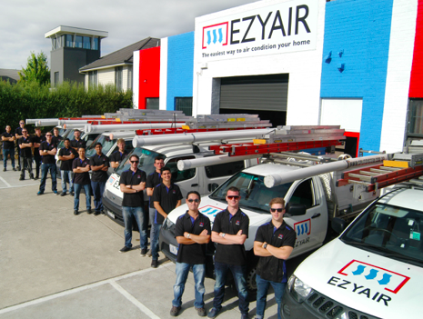 Ezy Air review team picture
