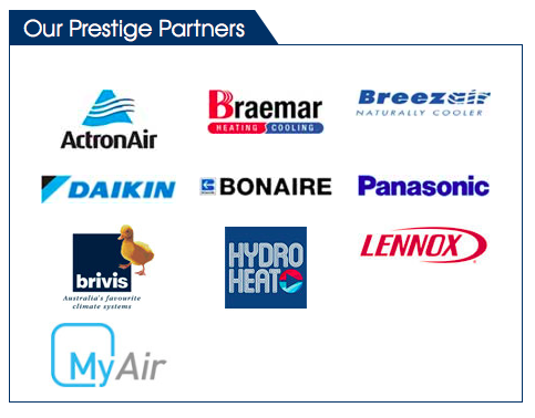Compare Air Conditioning brands found in Maroondah review