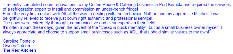 Our ADL Services Review found these customer testimonials