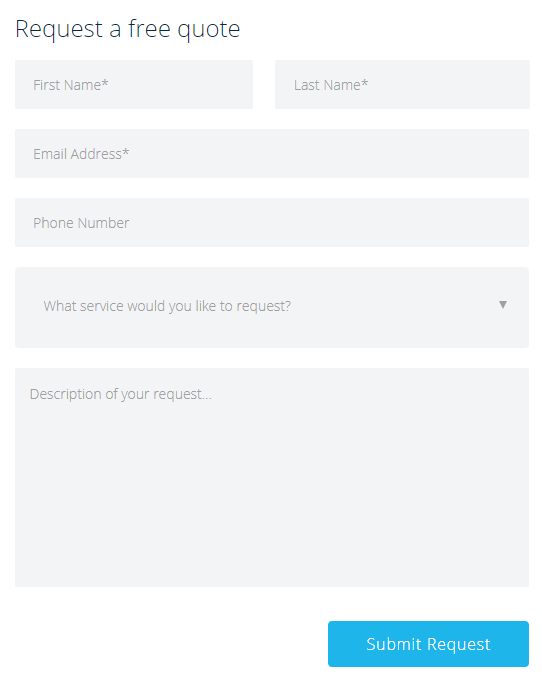 Camray Air Review team found this online form
