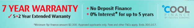 Finance offer found by Specialized Heating and Cooling Review