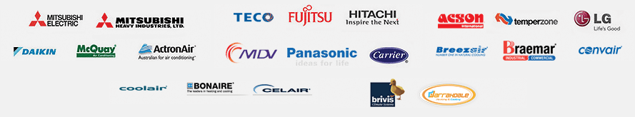 Brands installed according to our All Air Services review