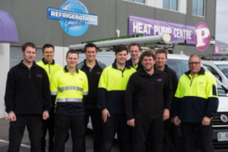 Parr's Heat Pump Centre review staff