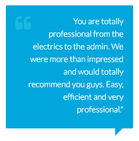Laser Electrical Warana customer testimonials