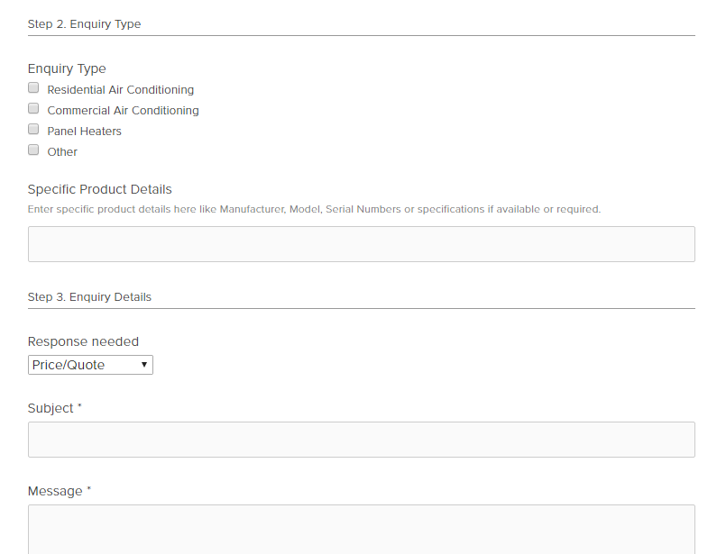 Climatic Review online form number 1 from site