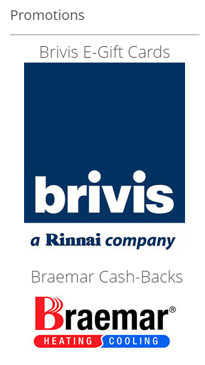 Middleton's Heating & Cooling Review offer with Brivis
