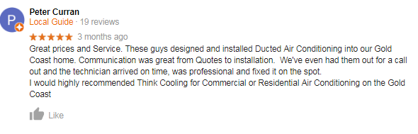 Think Cooling Review customer testimonial 3
