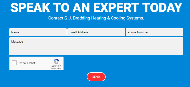 G.J. Bradding Heating & Cooling Systems Review Online Form 2