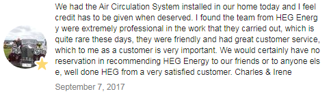 Home Efficiency Group Review Customer Testimonial 2