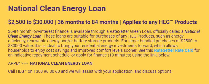 Home Efficiency Group Review Financing 2